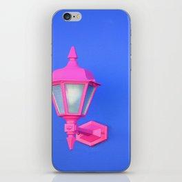Pink Lamp Retro iPhone Skin