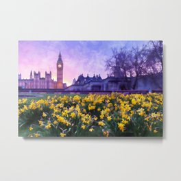 London Cityscape Metal Print