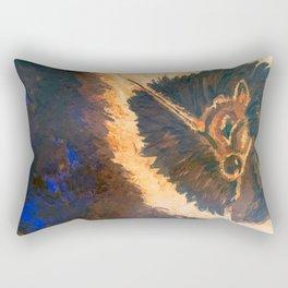 Ancient Dreams Captured Rectangular Pillow