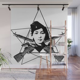 The Sniper (star) Wall Mural