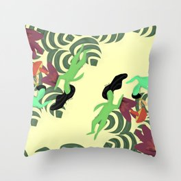 Flores ( flowers) Throw Pillow
