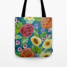 Flora Form Tote Bag