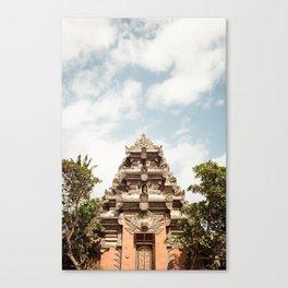 Ubud Royal Palace, Bali Canvas Print