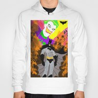 attack on titan Hoodies featuring Attack On Joker by winterknight