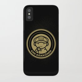 Chibi Kimi Raikkonen - Lotus F1 Team iPhone Case