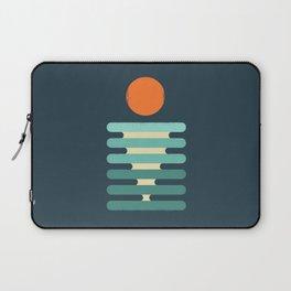 Minimalist ocean Laptop Sleeve