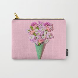 Flower Flurry I Carry-All Pouch
