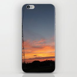 Coastguard Sunset iPhone Skin
