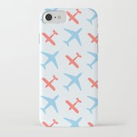 airplanes iPhone & iPod Cases featuring Airplanes by Daily Design