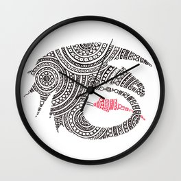Toothless Circle Art Wall Clock