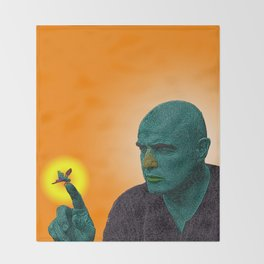Apocalypse Now Marlon Brando Throw Blanket