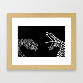serpientes Framed Art Print