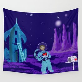 Long Distance Valentine Wall Tapestry