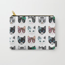 Cute CATS illustration design print Carry-All Pouch