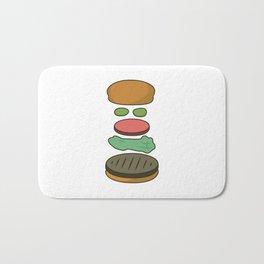 Bob's Burgers Hamburger Parts 2 Bath Mat