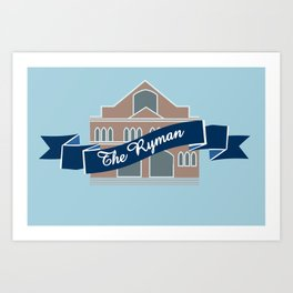 The Ryman Art Print