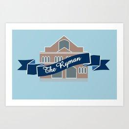 The Ryman Art Print