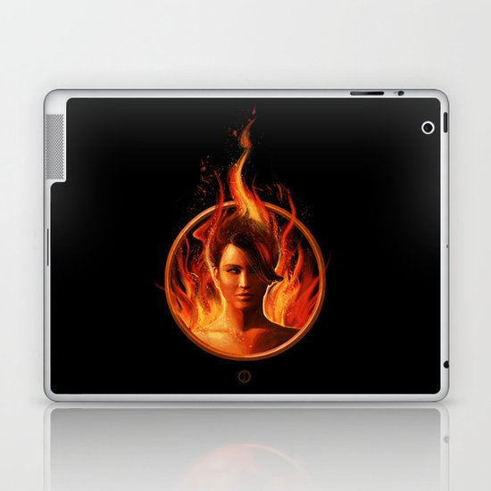 THE MOCKINGJAY Laptop & iPad Skin
