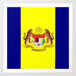 flag of putrajaya Art Print