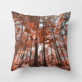 woodland dreams Throw Pillow