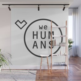 Welovehumanslogo Wall Mural