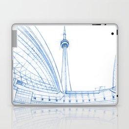BluePrints | CNTower - Toronto Laptop & iPad Skin