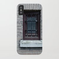 window iPhone & iPod Cases featuring Window by Marieken