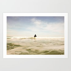 SURF: Waiting Art Print