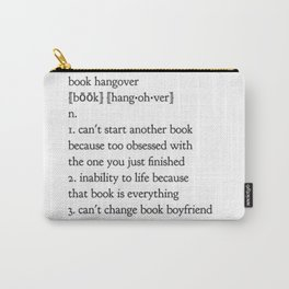 book hangover Carry-All Pouch