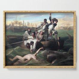 John Singleton Copley Watson and the Shark Serving Tray
