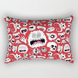 Another Monster Pattern Rectangular Pillow