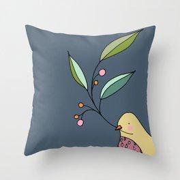 le signe des temps Throw Pillow