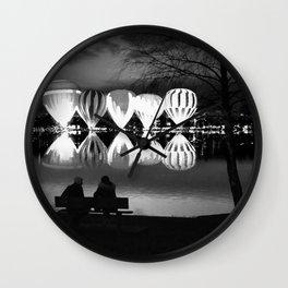 Luminary Lake Wall Clock