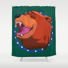 Bear for Hire Shower Curtain