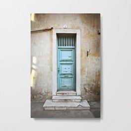 Porte N°5 Metal Print