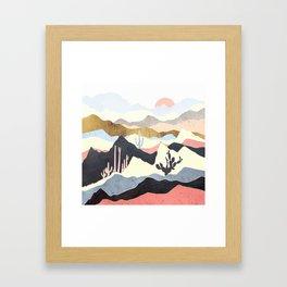Desert Summer Framed Art Print