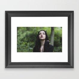 The Light is calling Framed Art Print