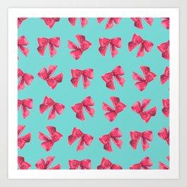 Bows for Tiffany Art Print