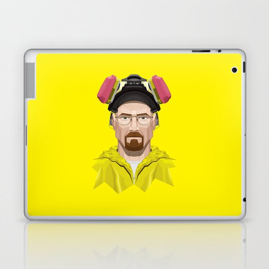 Breaking Bad - Walter White in Lab Gear Laptop & iPad Skin