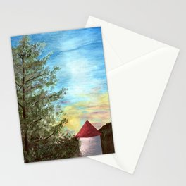 Sun Setting Over the Ozarks Stationery Cards