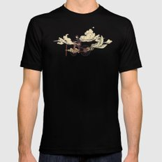 Steam FLY LARGE Black Mens Fitted Tee