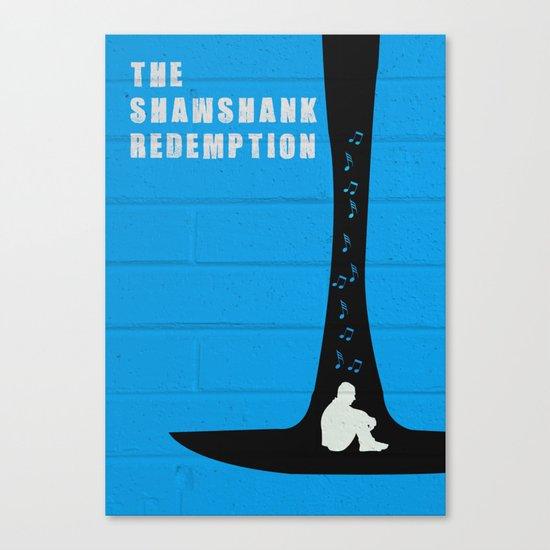 The Shawshank Redemption Abstract Minimalist Canvas Print