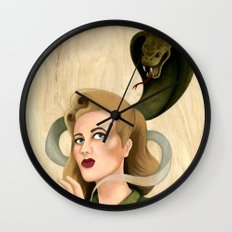 Cause of Death Wall Clock