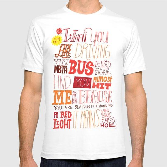 MBTA: Fun Fact! T-shirt