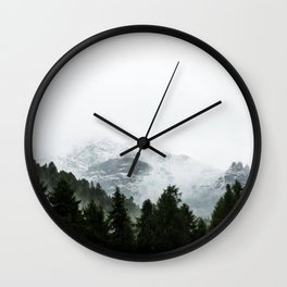 The Way Through The Woods Wall Clock