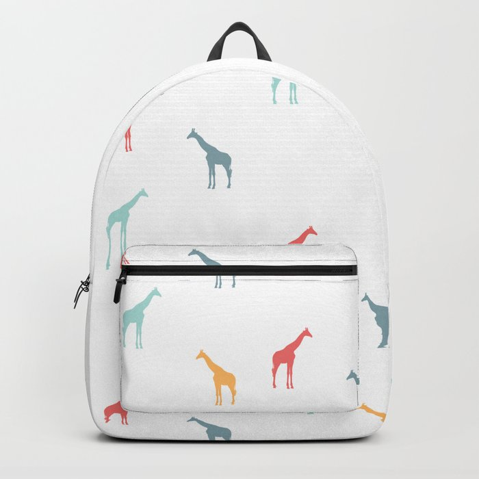 Giraffe Pattern Backpack