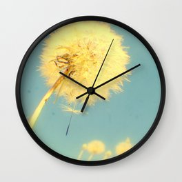 Dandelions #4 Wall Clock