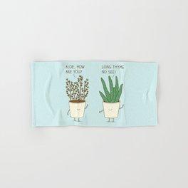 garden etiquette Hand & Bath Towel