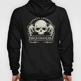 Legally Licensed Necromancer Hoody