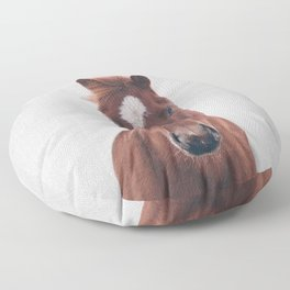 Horse II - Colorful Floor Pillow
